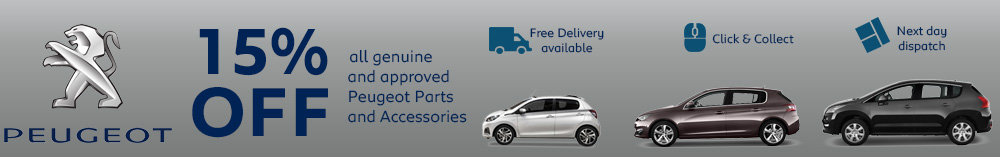 Offers on Peugeot Car Accessories