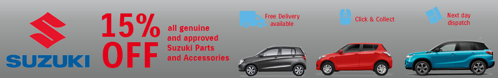 Suzuki car accessories offers