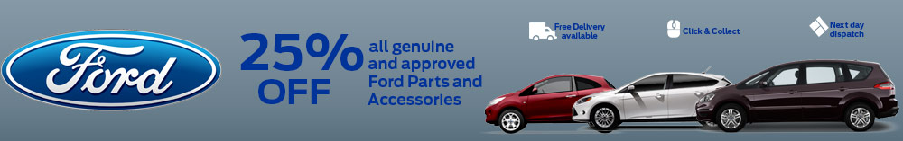 Ford Car Accessories Offer