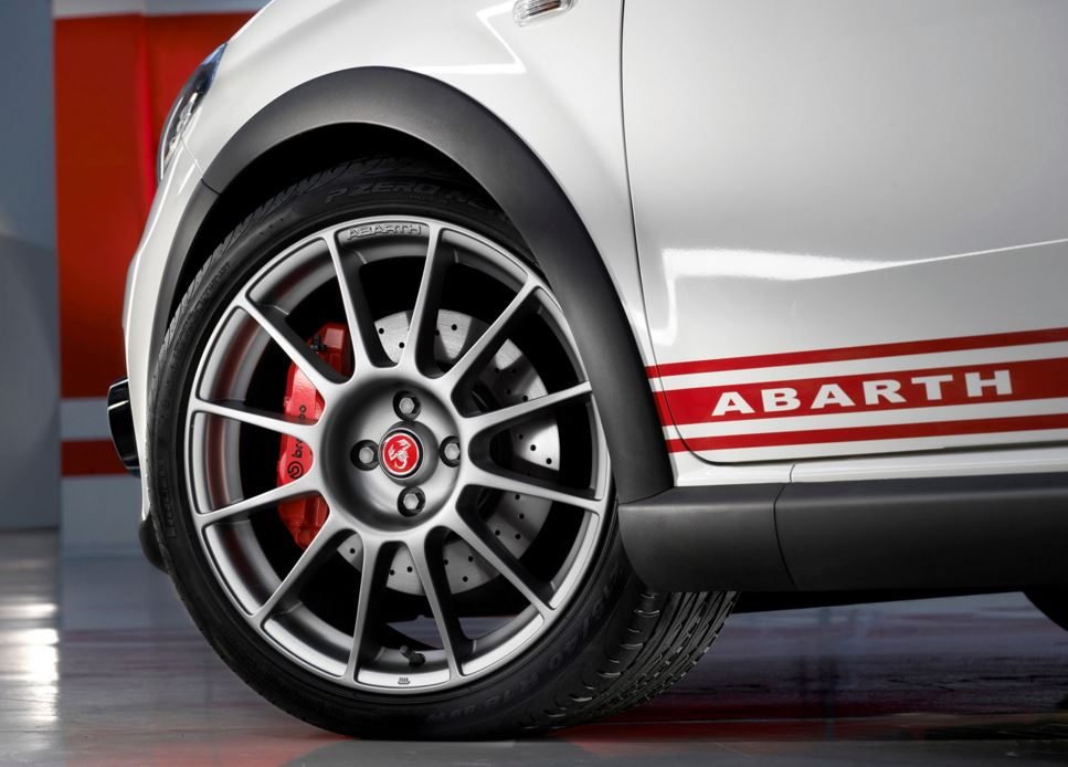 Genuine Abarth Alloy Wheels