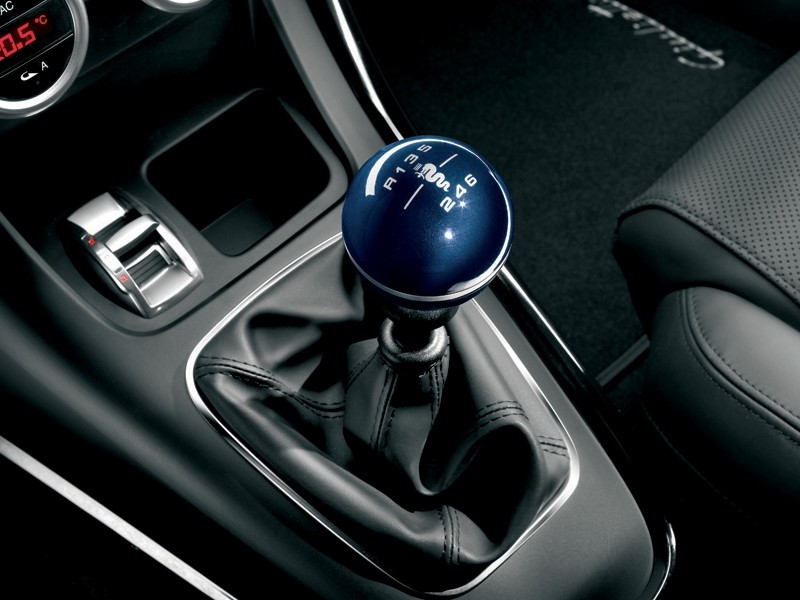 Alfa romeo giulia stick shift