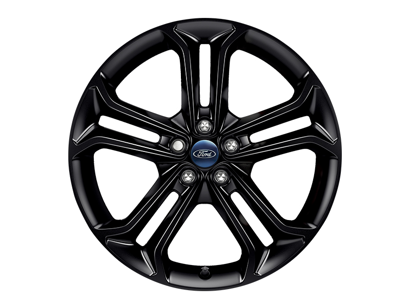 Ford Focus St 19 Alloy Wheel 5x2 Spoke In Panther Black