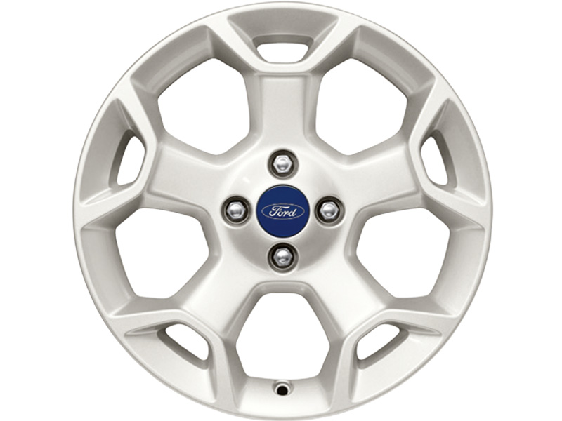 Ford Ka   Spoke Y Design Piste White Single Alloy Wheel