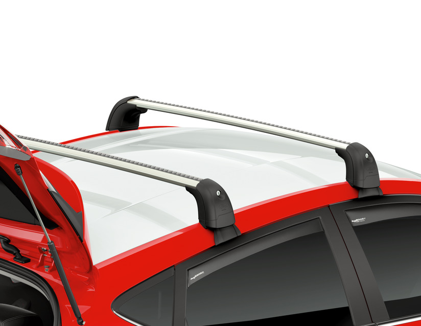 Roof bars rack for 3 door Ford fiesta year 2008 to 2013 roof rack cross bars