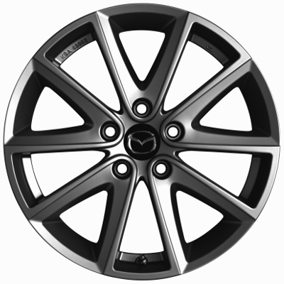 Mazda 6 Design 60a 17 Alloy Wheel Titanium Grey