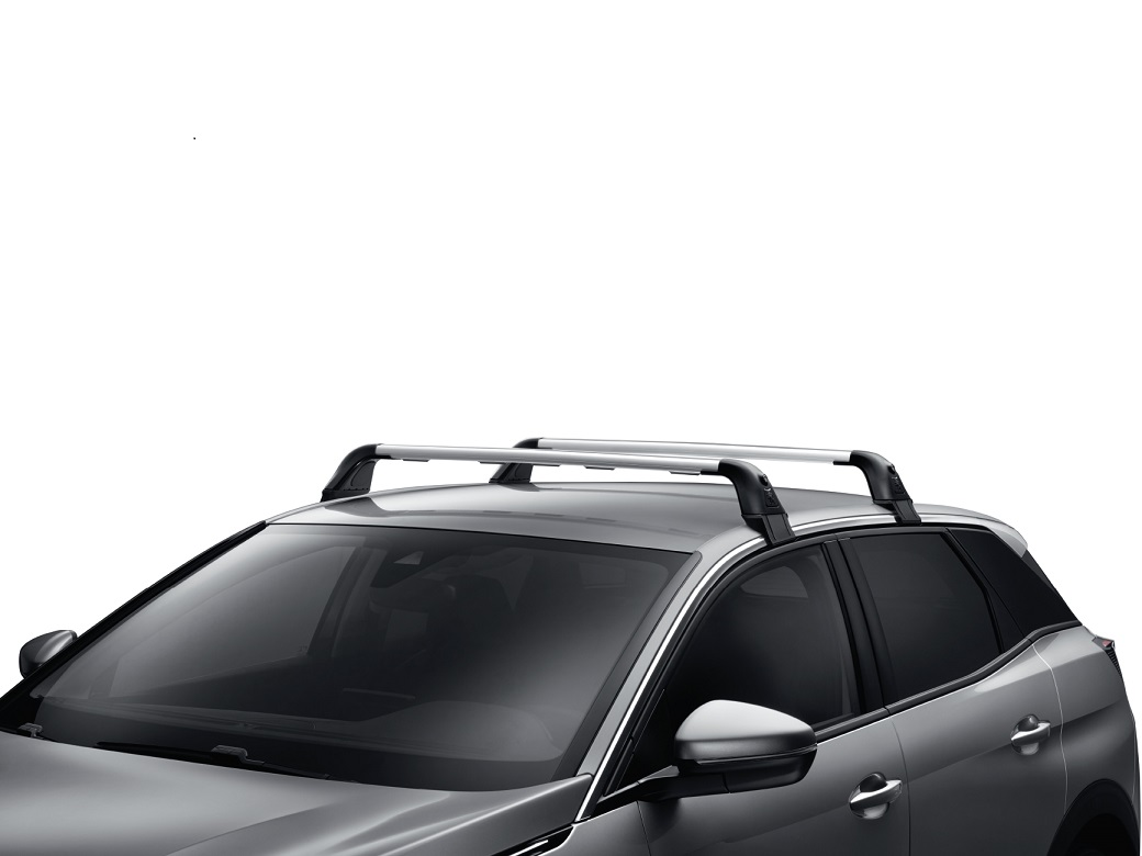 genuine peugeot 5008 aluminium roof bars 2017 onwards no roof rails 1613426580 ebay. Black Bedroom Furniture Sets. Home Design Ideas